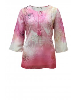 Casacca Think Pink con top