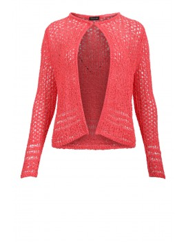 Cardigan tricot coral beach